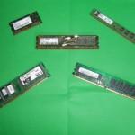 SDRAM, DDR, DDR2, SODIMM DDR, DDR3 RAM